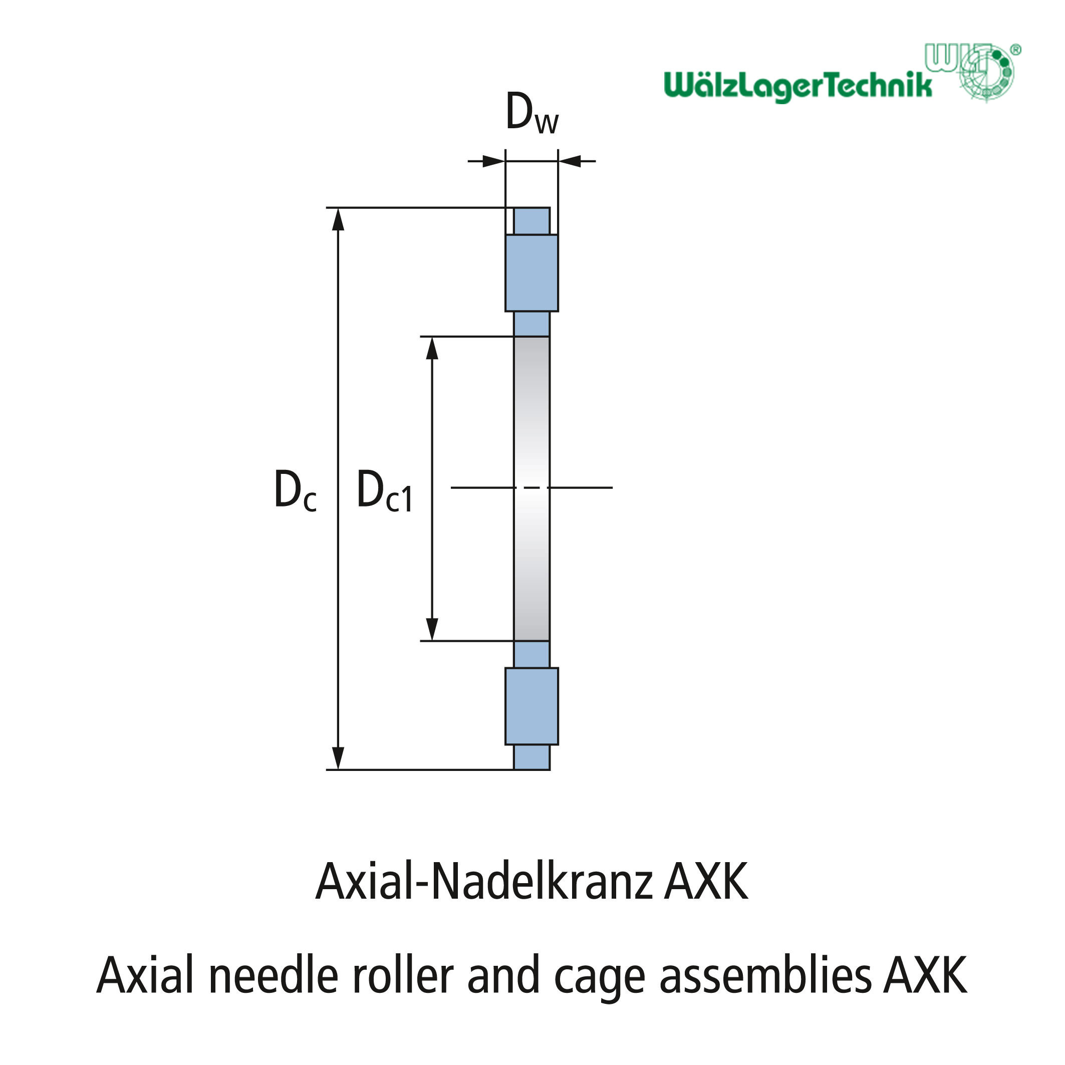 Nadellager AXK 1226